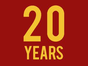 Our Twentieth AnniversaryJan. 4th