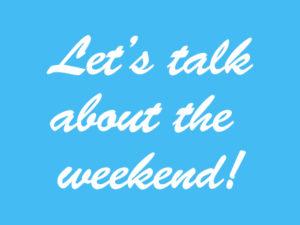 Weekend Specials Mar 8 – 11